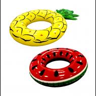 ΦΟΥΣΚΩΤΟ ΣΩΣΙΒΙΟ ΡΟΔΑ ΑΝΑΝΑΣ - ΚΑΡΠΟΥΖΙ (2 ΣΧΕΔΙΑ) (03L-36121)