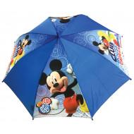 Ομπρέλα παιδική μονοκόμματη αυτόματη 46cm, taslon, club house capers, MICKEY
