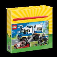Λαμπάδα LEGO City Αστυνομικό Όχημα Μεταφοράς Κρατουμένων 60276