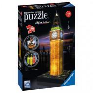 3D Puzzle Night Edition 216 τεμ. Big Ben (12588)
