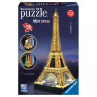 3D Puzzle Night edition 216 pcs Eiffel Tower (12579)