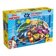 Lisciani Παζλ Maxi Double-Face Mickey 24τεμ. (74099)
