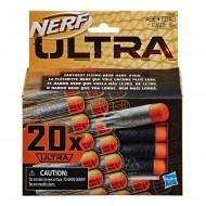 Συσκευασία με 20 ανταλλακτικά βελάκια NERF ULTRA ONE (E6600)