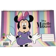 Minnie Glitter Μπλοκ Ζωγραφικής Α4-30 Φύλλα (340-48413)