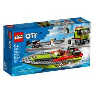 LEGO CITY RACING BOAT TRASPORTER (60254)