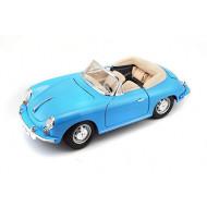 Burago 1/18 Porsche 356 B Cabriolet 1961 ΓΑΛΑΖΙΟ (12025)