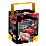 PUZZLE IN A TUB 48 CARS 3 FIRE (64045)