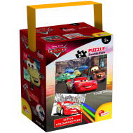 PUZZLE IN A TUB MINI 48 35X50 24 PEZZI CARS 3 (65257)