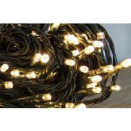 Χριστουγεννιατικα Φωτακια Led 180L Θερμο Λευκο/Πρασινο Καλωδιο Με Προγραμμα (XLALED180-GWW/31V)