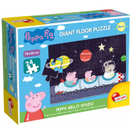 ΠΑΖΛ BABY PUZZLE PEPPA PIG GIANT FLOOR PEPPA IN SPACE (68302)