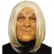 """OLD JOLIE MASK WITH WIG"""