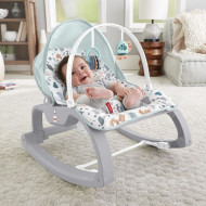 Fisher Price Ρηλάξ Κούνια Deluxe Infant To Toddler (GMD21)