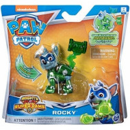 Paw Patrol Mighty Pups Super Paws Κουταβάκια Ήρωες Rocky (055688)