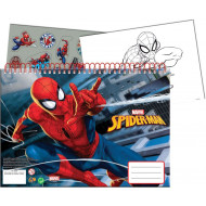 Spiderman Amazing 2 Μπλοκ Ζωγραφικής Α4+Stickers-40 Φύλλα (337-75416)