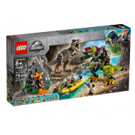 LEGO JURASSIC WORLD T. REX VS DINO-MECH BATTLE (75938)