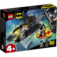 LEGO BATBOAT THE PENGUIN PURSUIT! 76158