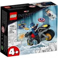 Lego® Marvel: Σύγκρουση Κάπτεν Αμέρικα και Ύδρας #76189