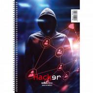 Τετράδιο Σπιράλ 1 Θέμα 17x25 Hacker - 4 Σχέδια - 1 Τεμάχιο Salko (9851)