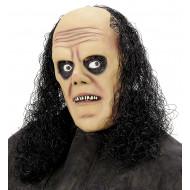 """UNDERTAKER MASK WITH WIG"""