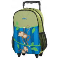 Polo Τσάντα Νηπιαγωγείου Trolley Μαϊμουδακια (9-01-011-61)