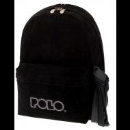 POLO Τσάντα Velvet Μαύρο (9-01-135-60)