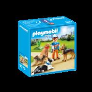 Playmobil Εκπαιδευτής σκύλων (9279)