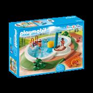 Playmobil Πισίνα με ντουζ (9422)