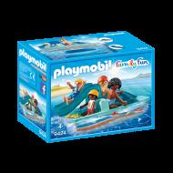 Playmobil  Θαλάσσιο ποδήλατο με τσουλήθρα (9424)