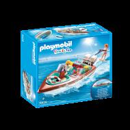 Playmobil Ταχύπλοο με υποβρύχιο μοτέρ (9428)