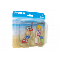 Playmobil Duo Pack Λουόμενοι στην παραλία (9449)