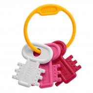 CHICCO Χρωματιστά Κλειδιά ΡΟΖ(63216-10)