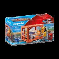 Playmobil  Κατασκευαστής container (70774)