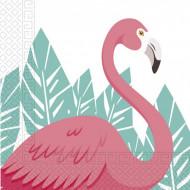 Χαρτοπετσέτες Flamingo 2φυλλες 33x33 20τμχ. (089594)