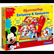 Εξυπνούλης Ηλεκτρονικό Mickey Σχήματα & Χρώματα