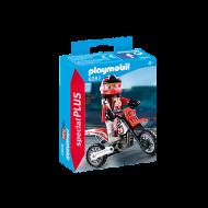 Playmobil Οδηγός μηχανής motocross(9357)