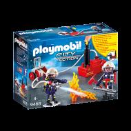 PLAYMOBIL Πυροσβέστες με αντλία νερού(9468)