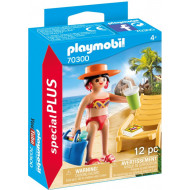 Playmobil Special Plus Παραθερίστρια Με Ξαπλώστρα (70300)