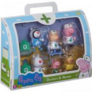 Peppa Pig Σετ Φιγούρων Γιατροί & Νοσοκόμες (PPC95000)