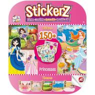 AS Company Stickerz Παιδικά Αυτοκόλλητα Κόλλα-Ξεκόλλα Οι Πριγκίπισσές μου (1090-08108)