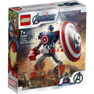 LEGO Super Heroes Captain America Mech Armor (76168)