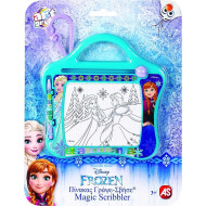 As Πίνακας Γράψε - Σβήσε Disney Frozen Travel 1028-13056