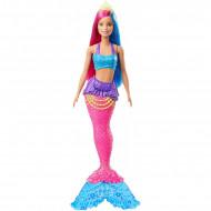 Mattel Barbie Dreamtopia Έκπληξη Γοργόνα Κούκλα Με Μπλε Ουρά GJK07 / GJK08