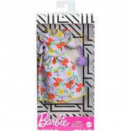 Mattel Barbie Fashion Βραδινά Σύνολα - Φόρεμα Με Λουλούδια FND47 / GHW84