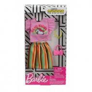 Mattel Barbie Πρωϊνά Σύνολα - Διάσημες Μόδες - Barbie Minions Dress Accessory - Fashion No 4 FYW81 / GHX87