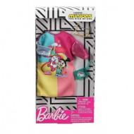 Mattel Barbie Πρωϊνά Σύνολα - Διάσημες Μόδες - Minions Dress Accessory FYW81 / GHX89