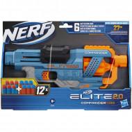 Hasbro Nerf Elite 2.0 Commander Rd-6 Blaster, 12 Official Nerf Darts E9485