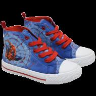 Μποτάκια καμβάς παιδικά Spiderman Νο 27-34 (CI87202C)