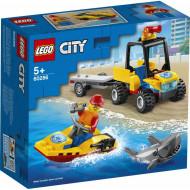 LEGO City Διασωστικό ATV Παραλίας 60286
