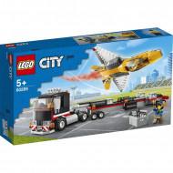 LEGO City Φορτηγό Μεταφοράς Τζετ Αεροπορικής Επίδειξης 60289