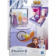 Hasbro Disney Frozen Pop Adventures Elsas Bedroom Pop-Up Playset E6545